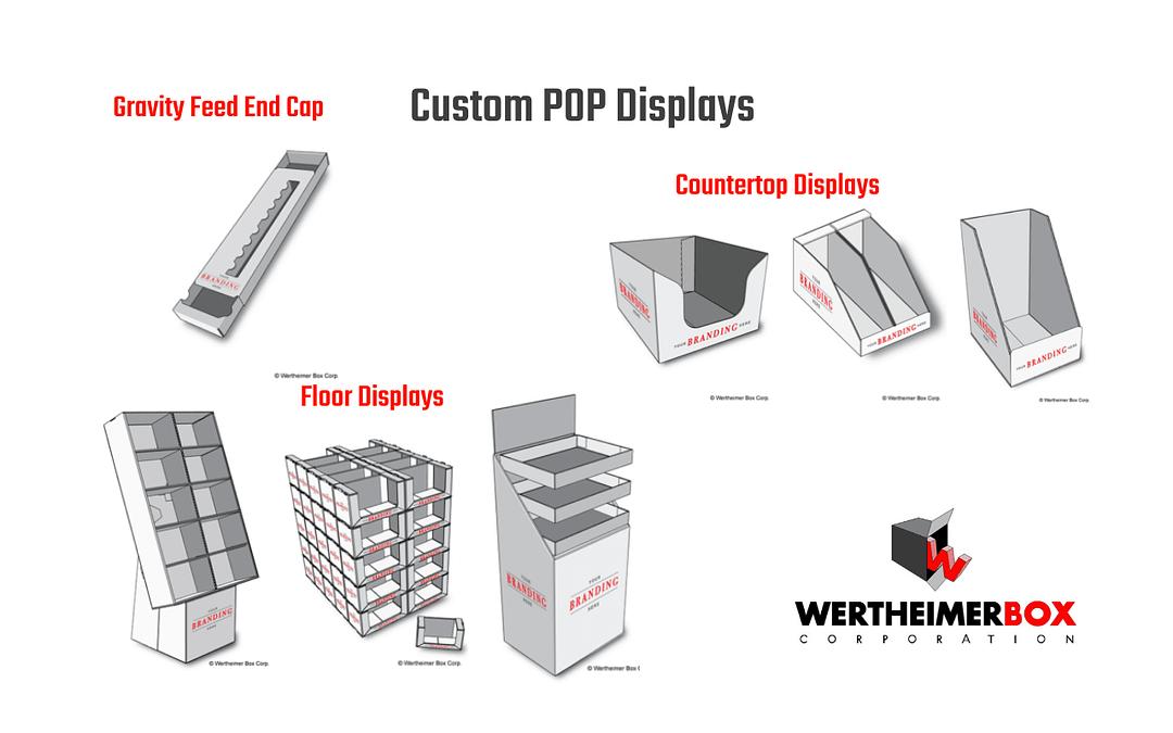 Custom POP Displays frpm Wertheimer Box