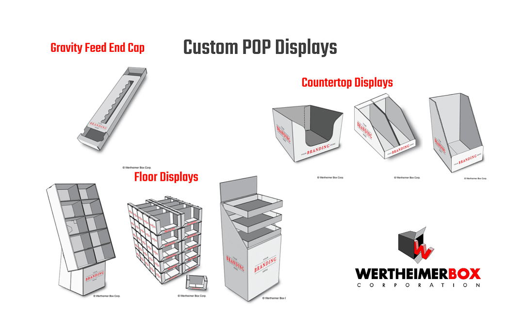 Custom POP Displays frpm Wertheimer Box